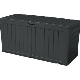 Plastový úložný box 270 L (antracit)