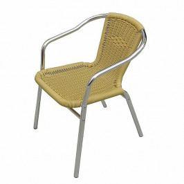 DEOKORK Zahradní hliníková židle MCR 015