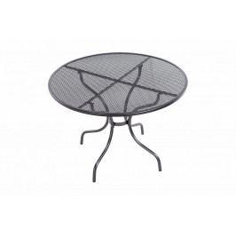Kovový stůl bez otvoru na slunečník ø105 cm