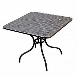 Kovový stůl 90 x 90 cm