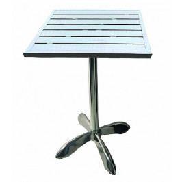 DEOKORK Hliníkový stůl MTA 008 (80x80 cm)
