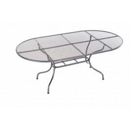 DEOKORK Kovový stůl oválný 160 x 95 cm