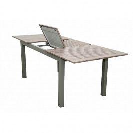 Hliníkový stůl rozkládací BIANCA 150/210x90 cm