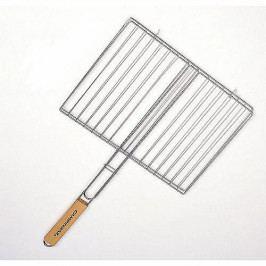 CAMPINGAZ  Hranatý rošt 35 x 25 cm (dřevěná rukojeť)