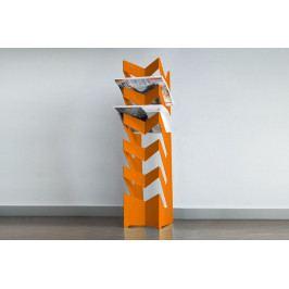 Držák na noviny a časopisy RADIUS DESIGN (NEWS-BODEN orange 528D) oranžový