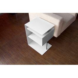 Stolek RADIUS DESIGN (X-CENTRIC TABLE weiss 530C) bílý