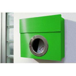 Radius design cologne Schránka na dopisy RADIUS DESIGN (LETTERMANN 1grün 506B) zelená