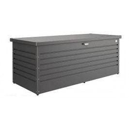 Venkovní úložný box LeisureTime Box 134 x 62 x 71 (tmavě šedá metalíza)