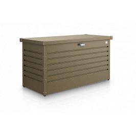 Venkovní úložný box LeisureTime Box 134 x 62 x 71 (bronzová metalíza)