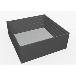 Biohort Zvýšený truhlík na zeleninu 2 x 2 (tmavě šedá metalíza) 2 x 2 (2 krabice)