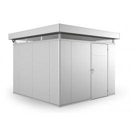 Biohort Zahradní domek BIOHORT CasaNova 330 x 330 (stříbrná metalíza) orientace dveří vpravo