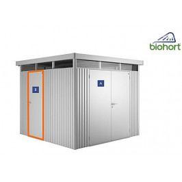 Dodatečné dveře k domkům Biohort (stříbrná metalíza)