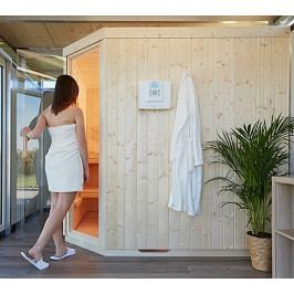 Model sauna k domkům Biohort CasaNova pozice vpravo