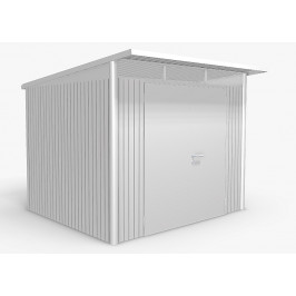 Biohort Zahradní domek BIOHORT AvantGarde DUO A6 260 x 260 x 218 (stříbrná metalíza)