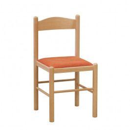 Klasická dřevěná jídelní židle Stima PISA –  bez područek, nosnost 130 kg