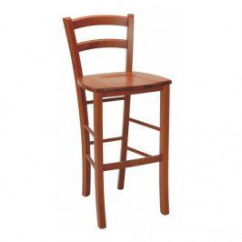 Dřevěná barová židle bez područek Stima PAYSANE BAR masiv – buk, nosnost 140 kg