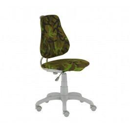 Dětská rostoucí židle na kolečkách Alba FUXO ARMY – bez područek