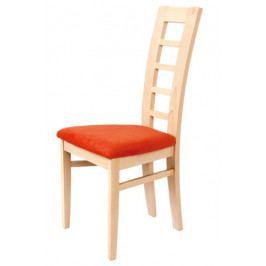 Dřevěná buková jídelní židle BRADOP RADKA – čalouněný sedák, na míru