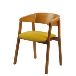 Jídelní dřevěná buková židle BRADOP MIRIAM – s područkami, na míru