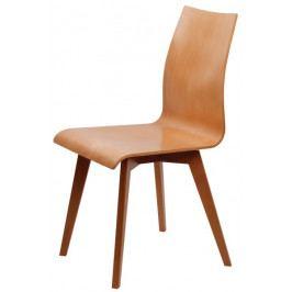 Dřevěná buková jídelní židle BRADOP SASKIE I – bez područek, na míru