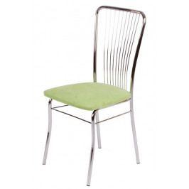 Jídelní židle Bradop LAURA – čalouněný sedák, kostra chrom