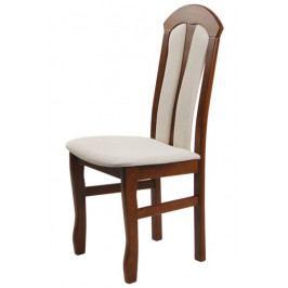 Jídelní dřevěná židle Bradop TEREZA – čalouněná, na míru