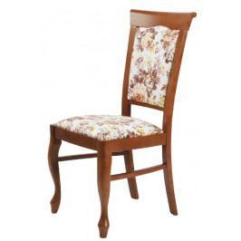 Jídelní dřevěná židle Bradop JIŘINA – čalouněná, na míru
