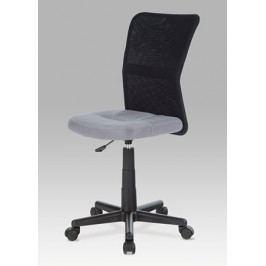 Dětská židle na kolečkách Autronic KA-2325 GREY – černá/šedá