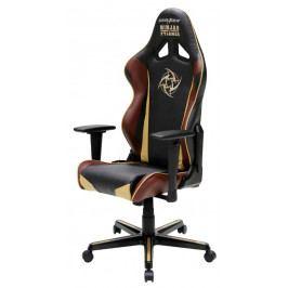 Herní židle DXRACER Racing OH/RZ126/NCC/NIP – umělá kůže, edice Ninjas in Pyjamas