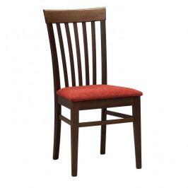 Dřevěná jídelní židle Stima K2 látka – bez područek, nosnost 130 kg
