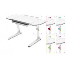 Dětský rostoucí stůl Mayer PROFI 3 32W3 58 TW – 5 barev, deska bílá, 116×57–75×66