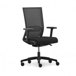 Kancelářská ergonomická židle na kolečkách RIM EASY PRO EP 1207 – s područkami, černá