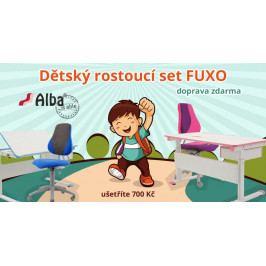 Dětský rostoucí set Alba FUXO – modrý