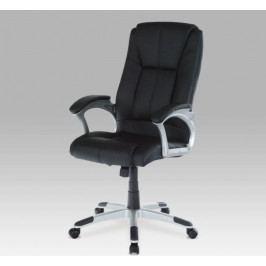 Kancelářská židle na kolečkách Autronic KA-N637 BR – černá