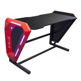 Herní ergonomický stůl E-Blue EGT002 – 125×62×80,8 cm, podsvícený