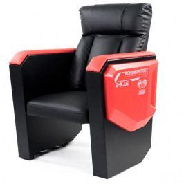 Herní sofa E-Blue COBRA– černá/červená, umělá kůže, nosnost 300 kg