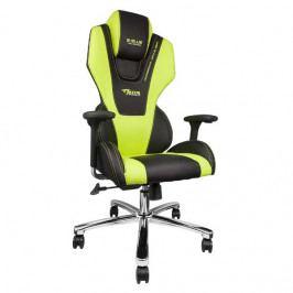Herní židle E-Blue Mazer – zelená, umělá kůže