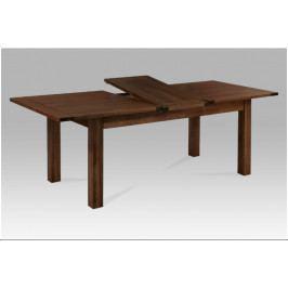 Jídelní rozkládací stůl MARRONE – masiv ořech, 180+50×95×76 cm