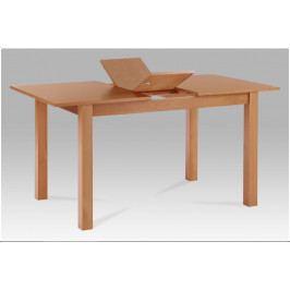 Jídelní rozkládací stůl ANGOLO – masiv buk, 120+30×80×75 cm