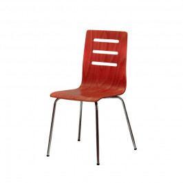 Jídelní židle Office Pro TINA – bez područek, sedák i opěrák z bukové překližky