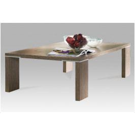 Konferenční stolek ARGENTO – lamino, hnědá, 138×80×38