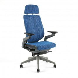 Kancelářská ergonomická židle Office Pro KARME MESH —  více barev, s podhlavníkem a područkami