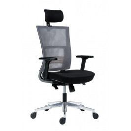 Kancelářská ergonomická židle Antares NEXT — černá