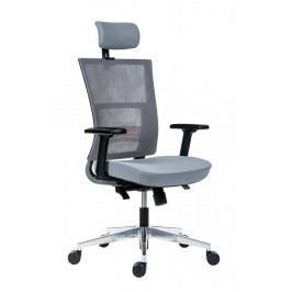 Kancelářská ergonomická židle Antares NEXT — šedá