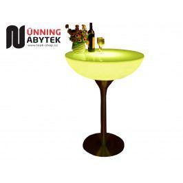 Svítící nábytek koktejlový bistro stůl LIGHT 105