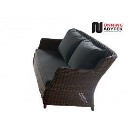 Umělý ratan Sofa Toscane Kulatý ratan NaturLine Luxury