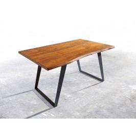 Jídelní stůl Akácie Masiv Natur 140x90