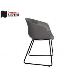 Zahradní židle Amy šedá