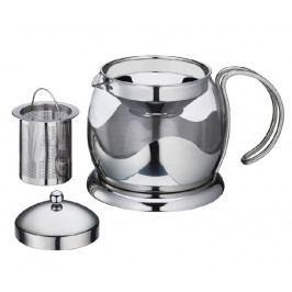 Konvice na čaj s filtrem 1,25 l sklo/nerez - Küchenprofi