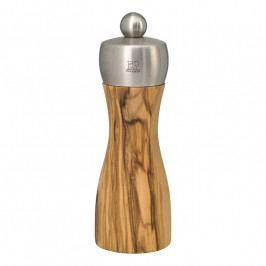 FIDJI OLIVE mlýnek na pepř 2 velikosti, olivové dřevo Výška: 15 cm